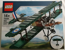 LEGO 10226 Sopwith Camel Aeroplane Exclusive Nip New And Sealed