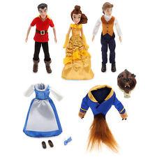 Disney Store Beauty and the Beast Mini Doll Set