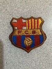 Parche Escudo Fc Barcelona Barça Meyba Vintage