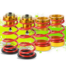 """4PCS RED SPRINGS 1""""-4"""" SUSPENSION COILOVER KIT REPLACEMENT FOR 06-11 HONDA CIVIC"""