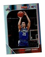 2019-20 Panini Hoops Premium #'ed /199 Landry Shamet #83 Los Angeles Clippers