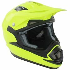 GSB Fluorescent Yellow 2017 Xp-14b MX Enduro Helmet M