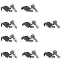 20 pk LH Rubber Mounted Rake Teeth Fits Ford Fits New Holland 256 258 259 260 56