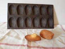 Anciennes platines à madeleines pâtisseries - Vintage tin madeleine mold