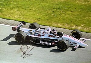 Nigel Mansell Lola Ford Texaco Newman Haas Racing Hand Signed Autograph Indy
