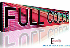 """OPEN LED SIGNS BUSINESS SHOP STORE  19"""" x 63"""" STILL SCROLLING TEXT DISPLAY"""