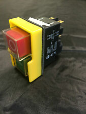 Interruptor de seguridad para máquinas de taller Kedu KJD20-2 Interruptor de Inicio de parada NVR