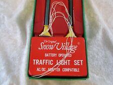 Dept 56 - Traffic Light Set Snow Village