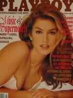 Playboy January 1996 | Cindy Crawford  Shauna Sand Carmen Electra      #1795
