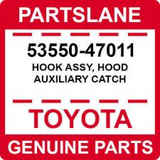 53550-47011 Toyota OEM Genuine HOOK ASSY, HOOD AUXILIARY CATCH