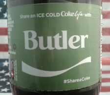 Share A Coke Life With Butler 2017 Limited Edition Green Label Coca Cola Bottle
