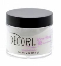 2 oz Professional Acrylic Adoro decori SNOW WHITE 3d Powder compare mia secret