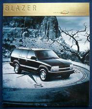 Prospekt brochure 2000 Chevrolet Chevy Blazer (USA)