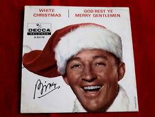 BING CROSBY~ WHITE CHRISTMAS~ ~ RARE~ GOD REST YE MERRY GENTLEMEN ~ POP 45