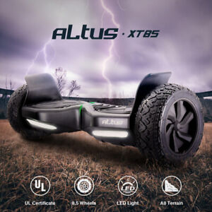 Altus 8.5 inch Self Balancing Electric Scooter Hoverboard Skateboard Off Road