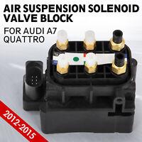 st Valve Block Air Suspension Air Supply Fit for Audi A7 Quattro 4H0616013A vr