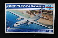 YB039 ESCI 1/72 maquette avion9111 Fokker F27-MK 400 Friendship Air UK