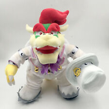 Super Mario Odyssey King Bowser Wedding Costume Plush Toy Stuffed Animal 14""
