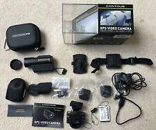 Contour GPS Cámara de vídeo-vídeo de alta definición, Modelo 1400 plus extras