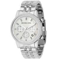Michael Kors Mid-Size Ritz Chronograph Glitz MK5020 Wrist Watch for Women
