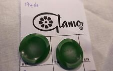 1940s Bakelite Buttons Green
