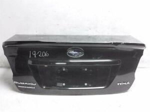 15 16 17 18 19 Subaru WRX 2.0L DECK LID/REAR TRUNK BLACK - DENTS - 57509VA0709P