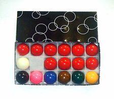 """1 3/4"""" (4.44 cm) Snooker Ball Set per uso domestico tabella"""