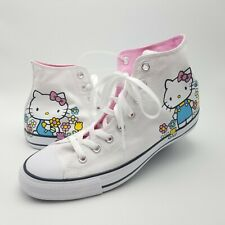 Converse X Hello Kitty High Top Sneakers Mens 9 Womens 11 164629F
