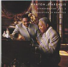 WYNTON MARSALIS CD  STANDARD TIME  VOL. 3  THE RESOLUTION OF ROMANCE