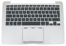 """Apple MacBook Pro 13"""" A1502 2013 2014 Silver Palmrest UK Keyboard B661-8154"""