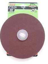 "Gator Power  7"" Fiber Discs 50 Coarse  # 3082 New"