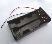 1PC 4 x C Size Cell Battery Batteries Holder Box 6V Case With Wire Lead UM-2X4