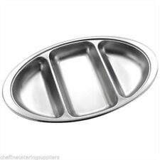 Unbranded Stainless Steel Serving Dishes