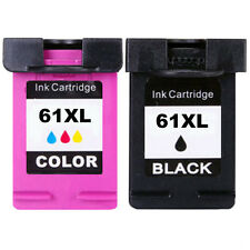 2pk #61 XL Black/Color Ink For HP Deskjet 1000 1010 1050 1051 1510 2050 2540