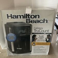 Hamilton Beach Coffee Maker Trucount 12 Cup Brand New In Box Black