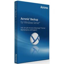 Acronis Backup 12.5 Windows Server Essentials