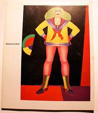 RICHARD LINDNER/CATALOGUE EXPO/MUSEE DART MODERNE/PARIS/1974/POP ART