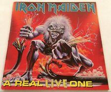 IRON MAIDEN a real Live one CD original 1993 aussie oz EMI australasia 7814562