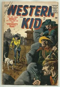 WESTERN KID #17 (Last Issue, Romita Art, Severin Cover) Marvel / Atlas, 1957
