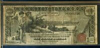"""1896 $1 DOLLAR EDUCATIONAL LARGE US SILVER CERTIFICATE, NICE, DON""""T MISS"""