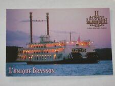 Vtg Postcard Showboat Branson Belle Silver Dollar City MO