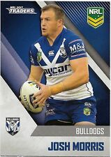 2017 NRL Traders Base Card (029) Josh MORRIS Bulldogs