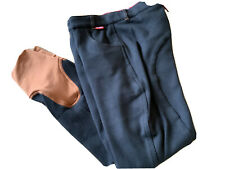 🤩 Horka Red Horse Emma Breeches Black/Brown Size 28R 🤩