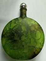 Bottiglia Vetro Vintage Verde Militare