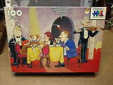 PLAYGROUND Bon Appetit 1986 jigsaw puzzle NWT fancy restaurant OG violin