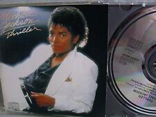 Michael Jackson- Thriller- Manufactured in Japan- No Barcode- Matrix 71A9