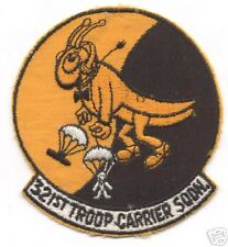 321st TROOP CARRIER SQUADRON  patch