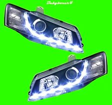 Holden Commodore VY Calais WK WL Statesman LED BLACK Head lights Right Left Side