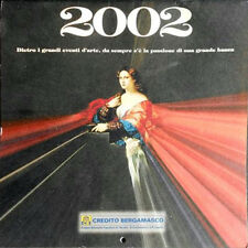 CALENDARIO d'ARTE  CREDITO BERGAMASCO 2002