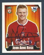 MERLIN 2003-FA PREMIER LEAGUE-10TH EDITION- #320-LIVERPOOL/NORWAY-JOHN A RIISE